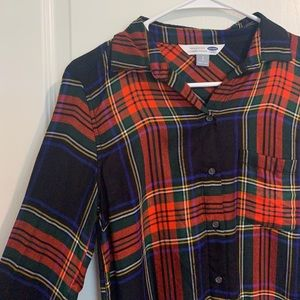 flannel - size small (NWT)